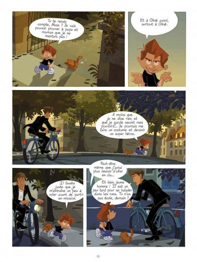 Page 1 gargouilles tome 3 - les gardiens