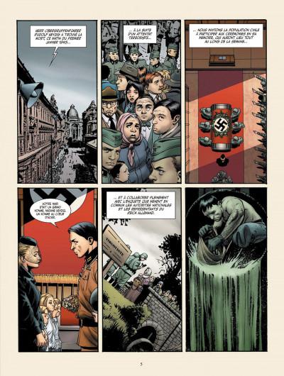 Page 1 je suis légion tome 3 - les trois singes