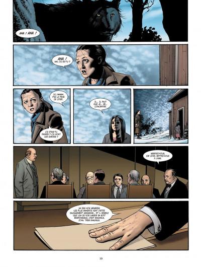 Page 0 je suis légion tome 3 - les trois singes