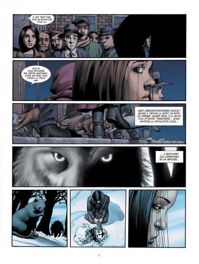 Page 3 je suis légion tome 3 - les trois singes