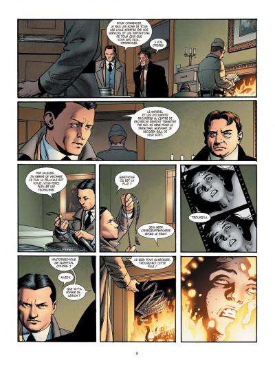Page 9 je suis légion tome 3 - les trois singes