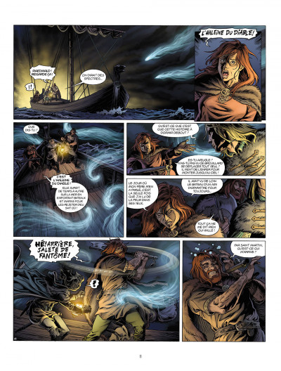 Page 8 Millénaire tome 3