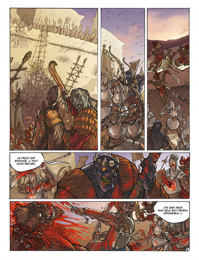 Page 3 sans dieu tome 2 - l'antre de la connaissance