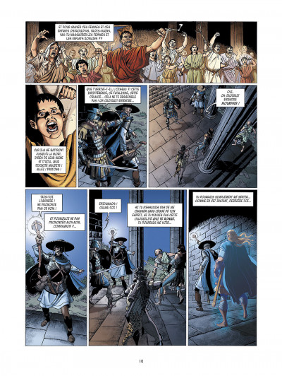 Page 0 la meute de l'enfer tome 3 - le secret de la sybille