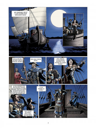 Page 3 la meute de l'enfer tome 3 - le secret de la sybille