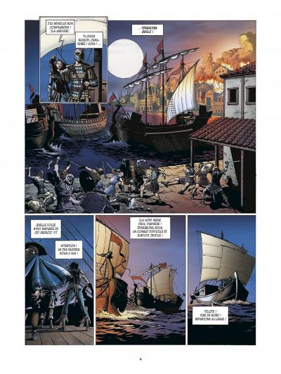 Page 4 la meute de l'enfer tome 3 - le secret de la sybille