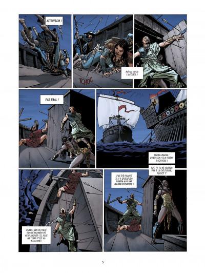 Page 5 la meute de l'enfer tome 3 - le secret de la sybille