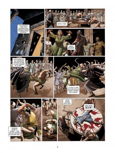 Page 8 la meute de l'enfer tome 3 - le secret de la sybille