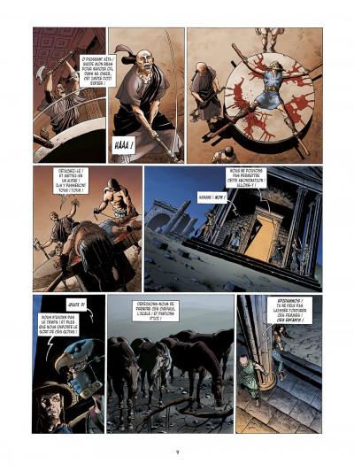 Page 9 la meute de l'enfer tome 3 - le secret de la sybille