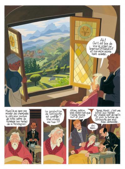Page 4 Brüssli - L'enfant-dragon - intégrale