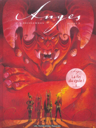 Couverture anges tome 3 - Psaume 3