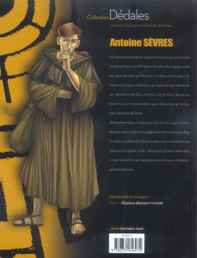 Dos antoine sèvres tome 1 - abyssus abyssum invocat