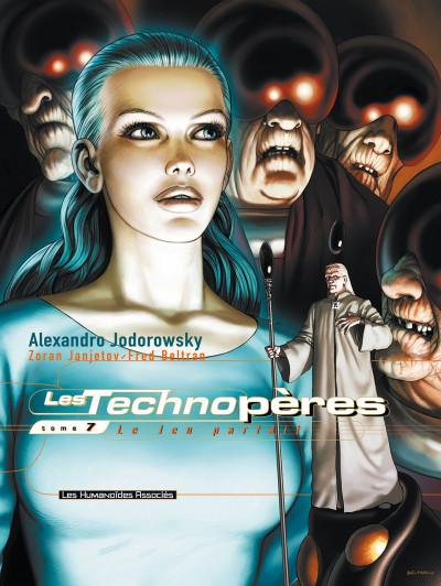 Couverture les technopères tome 7 - le jeu parfait