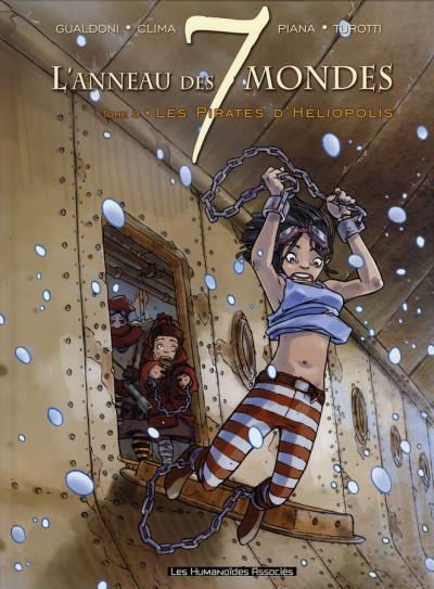 Couverture l'anneau des 7 mondes tome 3 - les pirates d'héliopolis