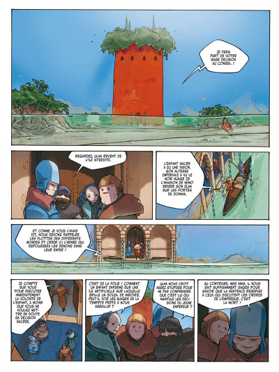 Page 4 l'anneau des 7 mondes tome 3 - les pirates d'héliopolis