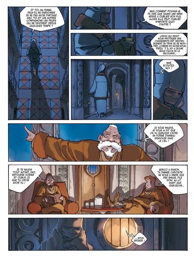 Page 8 l'anneau des 7 mondes tome 3 - les pirates d'héliopolis