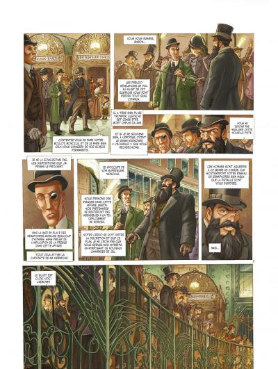 Page 0 le réseau bombyce tome 3 - Stigmates