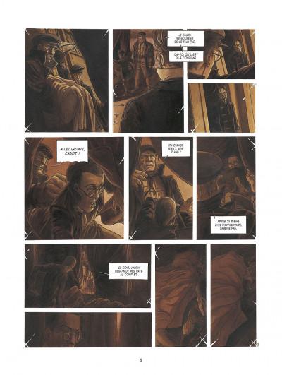 Page 5 le réseau bombyce tome 3 - Stigmates
