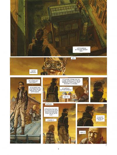 Page 6 le réseau bombyce tome 3 - Stigmates