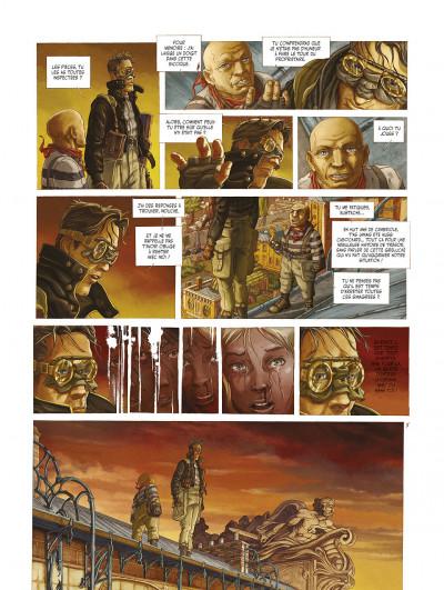 Page 7 le réseau bombyce tome 3 - Stigmates