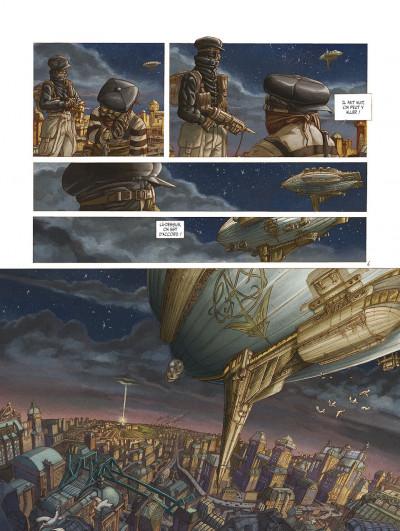 Page 8 le réseau bombyce tome 3 - Stigmates