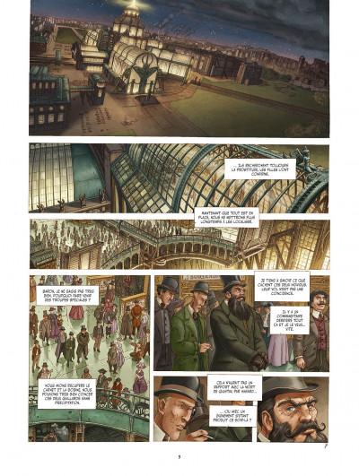Page 9 le réseau bombyce tome 3 - Stigmates
