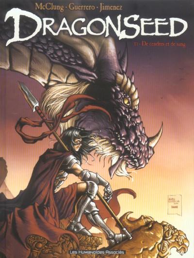 Couverture dragonseed tome 1 - de cendres et de sang
