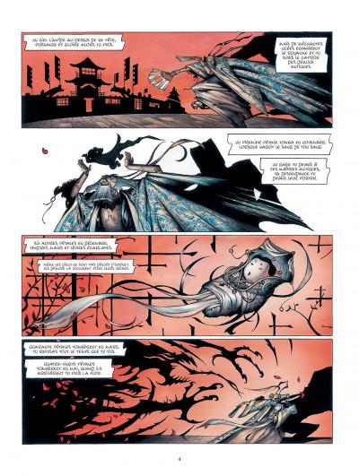 Page 4 la légende des nuées écarlates tome 1 - la ville qui parle au ciel