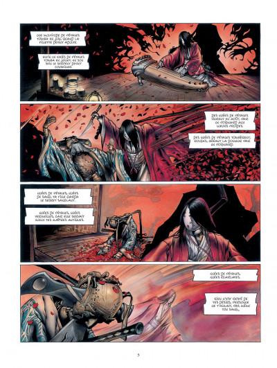 Page 5 la légende des nuées écarlates tome 1 - la ville qui parle au ciel