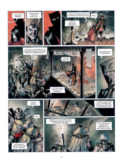 Page 6 la légende des nuées écarlates tome 1 - la ville qui parle au ciel