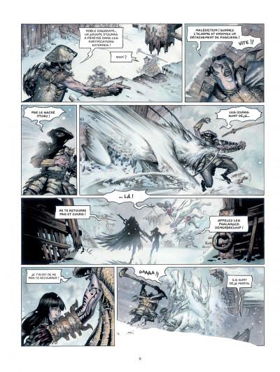Page 9 la légende des nuées écarlates tome 1 - la ville qui parle au ciel