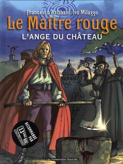 Couverture le maître rouge tome 1 - l'ange du château