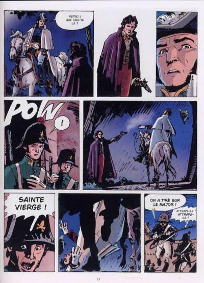 Page 1 le maître rouge tome 1 - l'ange du château