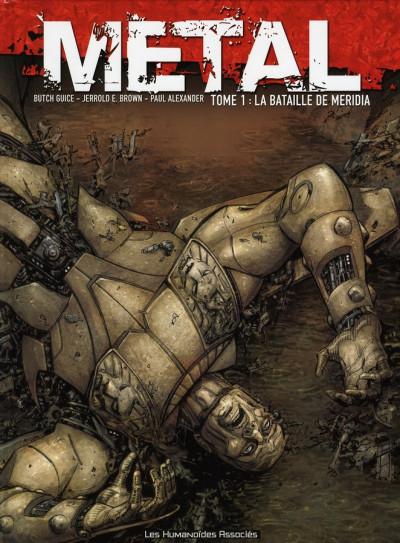 Couverture métal tome 1 - la bataille de meridia