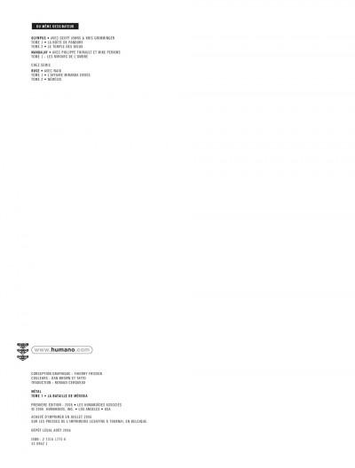 Page 2 métal tome 1 - la bataille de meridia