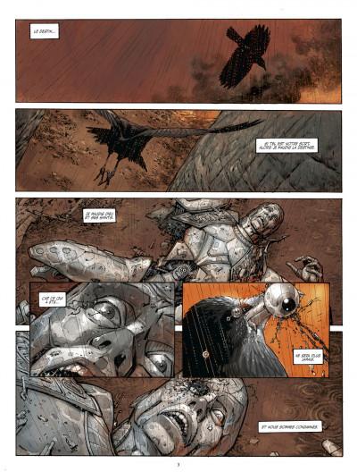 Page 3 métal tome 1 - la bataille de meridia