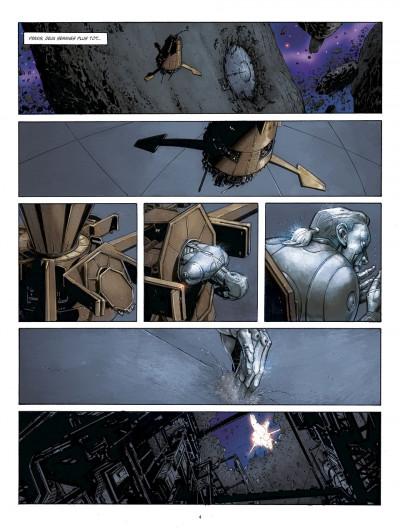 Page 4 métal tome 1 - la bataille de meridia