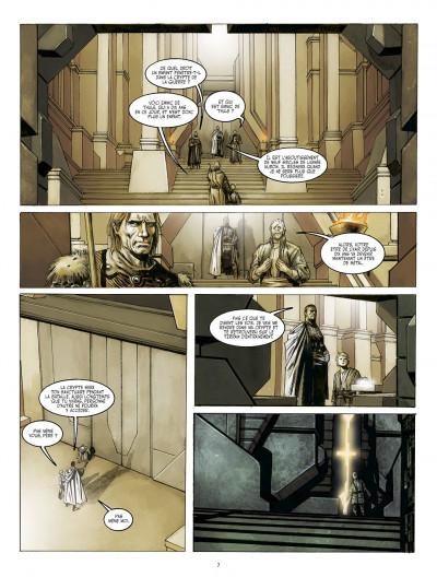 Page 7 métal tome 1 - la bataille de meridia