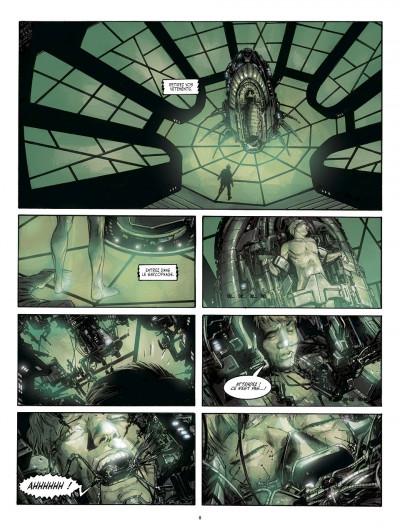 Page 8 métal tome 1 - la bataille de meridia