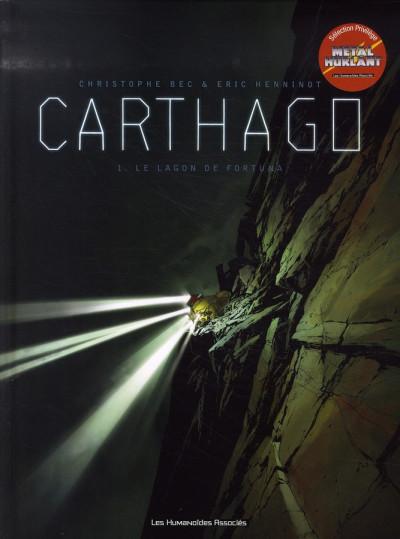 Couverture carthago tome 1 - le lagon de fortuna