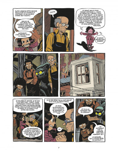Page 7 koma tome 4 - l'hotel