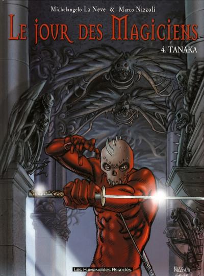 Couverture le jour des magiciens tome 4 - tanaka