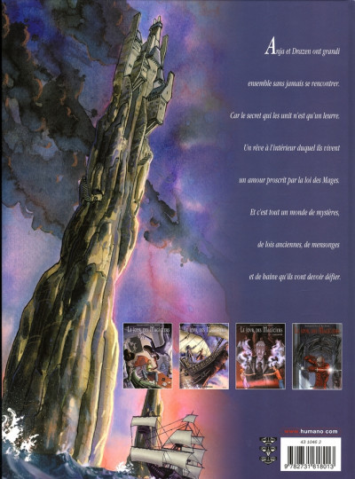 Dos le jour des magiciens tome 4 - tanaka