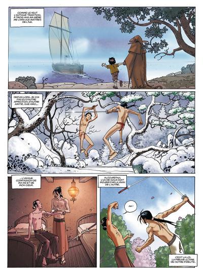 Page 5 le jour des magiciens tome 4 - tanaka
