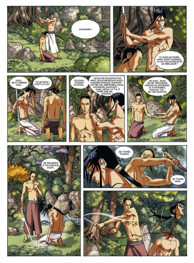 Page 6 le jour des magiciens tome 4 - tanaka