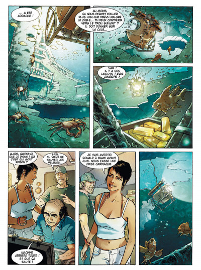 Page 3 Russel Chase tome 3 - bleu caraïbes