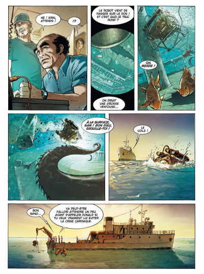 Page 4 Russel Chase tome 3 - bleu caraïbes