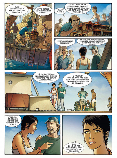 Page 5 Russel Chase tome 3 - bleu caraïbes