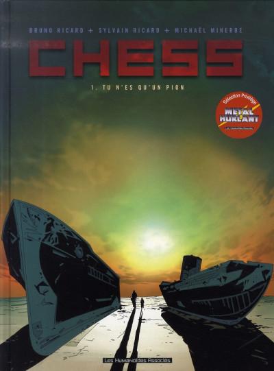 Couverture chess tome 1 - tu n'es qu'un pion