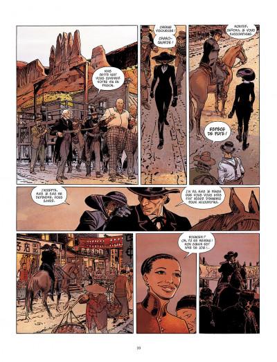Page 0 bouncer tome 5 - la proie des louves